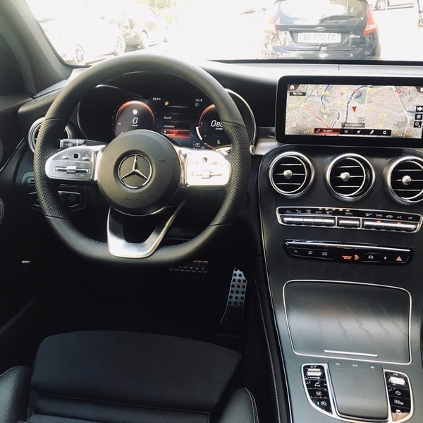 NEW MERCEDES GLC COUPE 220D 194CV AMG LINE 4 MATIC